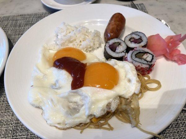 インターコンチネンタルパタヤリゾートの朝食_実食プレート2