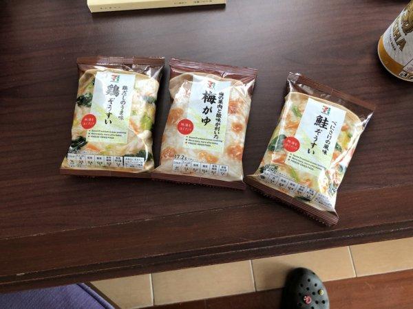 海外旅行の日本食持ち込みに激おすすめ!セブン-イレブンのフリーズドライ食品