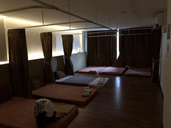 パタヤで全身タイマッサージ_Chivarome Health massage_全身タイマッサージ施術場所