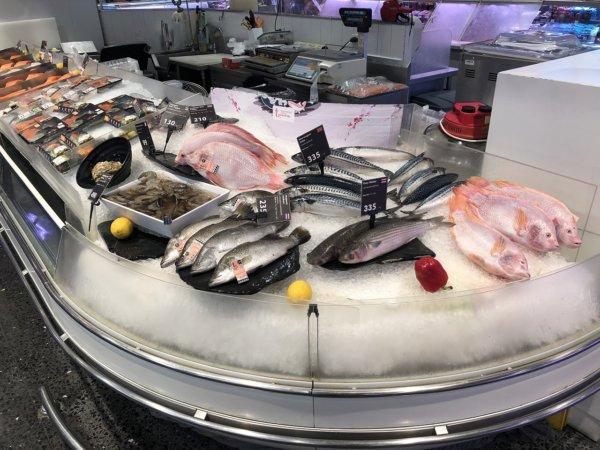 パタヤのショッピングモールセントラルフェスティバルパタヤ_スーパーマーケット_鮮魚