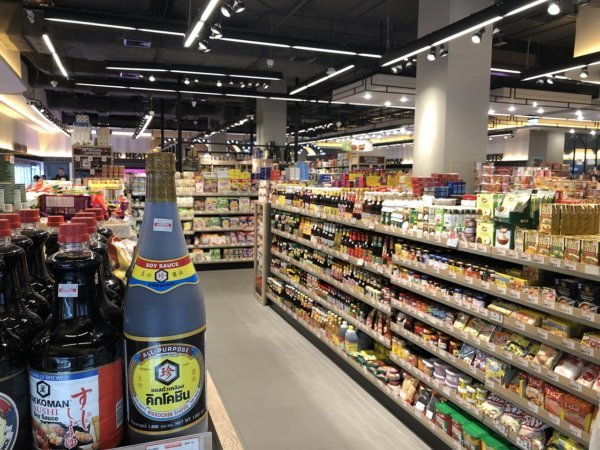 ターミナル21パタヤ_スーパーマーケット_店内の様子