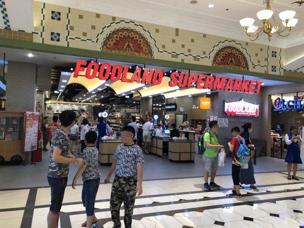 ターミナル21パタヤ_スーパーマーケット_入り口