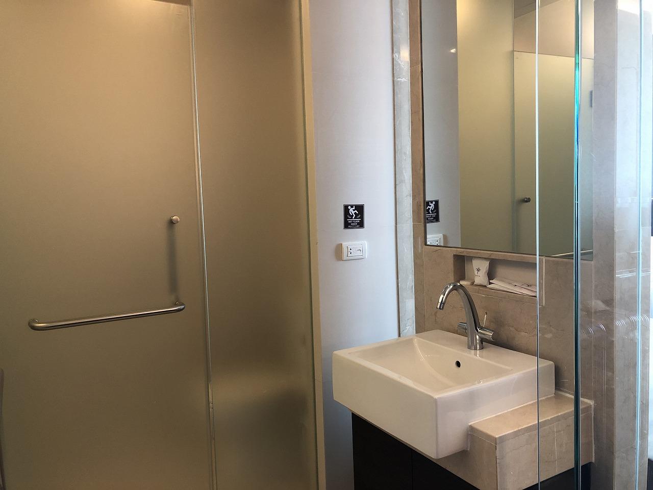 バンコクのホテル 安くて綺麗、日本語OKのジャスミンリゾートホテル_客室_洗面室