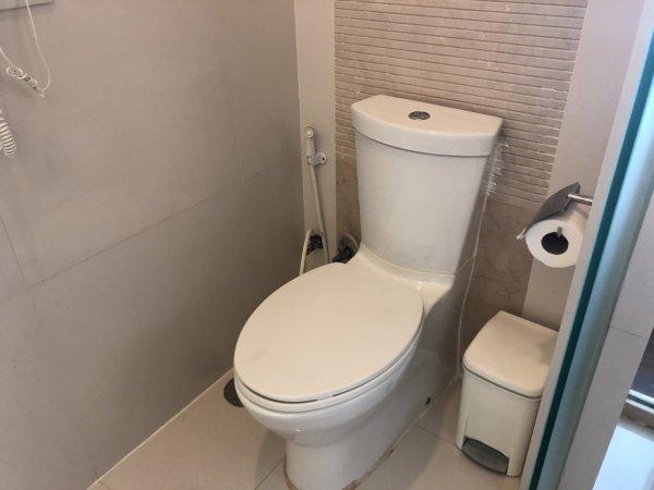 バンコクのホテル 安くて綺麗、日本語OKのジャスミンリゾートホテル_客室_トイレ