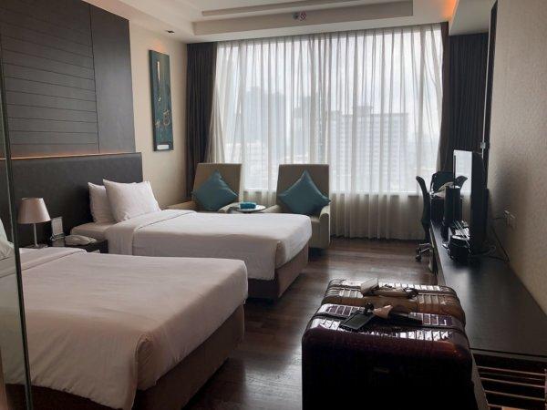 バンコクのホテル 安くて綺麗、日本語OKのジャスミンリゾートホテル_客室
