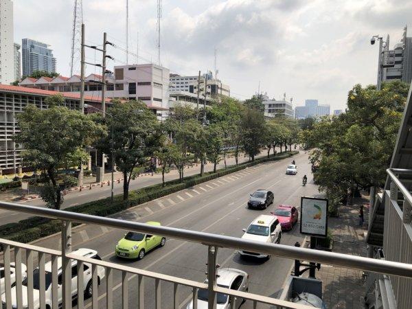 2019.02.10バンコク50's夫婦たび_バンコク市街の道路
