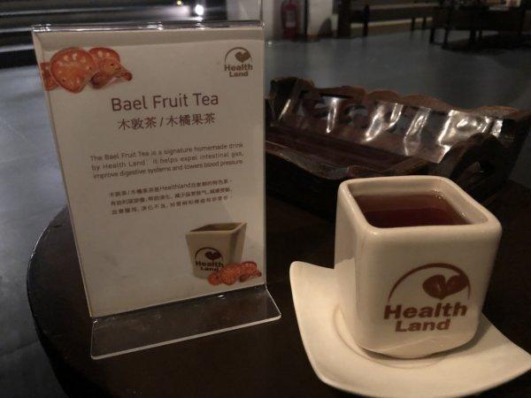 バンコクマッサージ_Health Landヘルスランドアソーク店_施術後のお茶