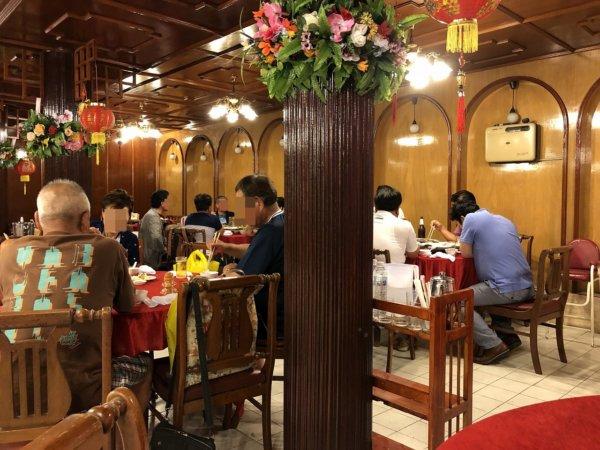 バンコクで贅沢な北京ダックをお安く味わえるグレートシャンハイ大上海飯店_店内の様子2