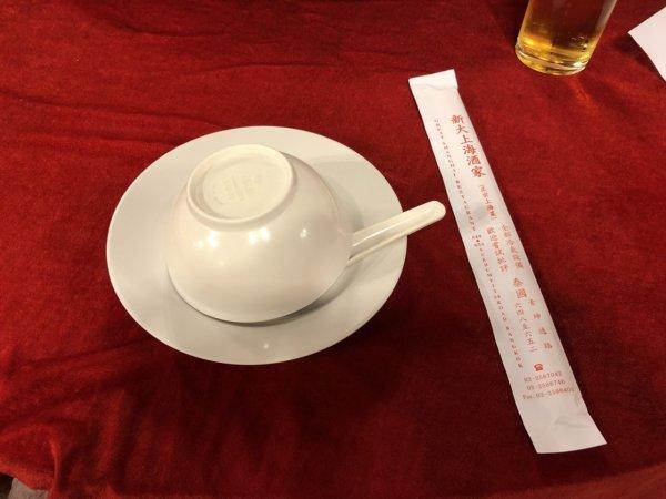 バンコクで贅沢な北京ダックをお安く味わえるグレートシャンハイ大上海飯店_テーブルセット