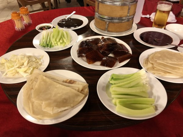 バンコクで贅沢な北京ダックをお安く味わえるグレートシャンハイ大上海飯店_イザ実食!_北京ダック1