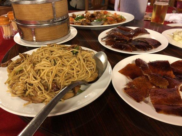 バンコクで贅沢な北京ダックをお安く味わえるグレートシャンハイ大上海飯店_イザ実食!_オーダーしたお料理