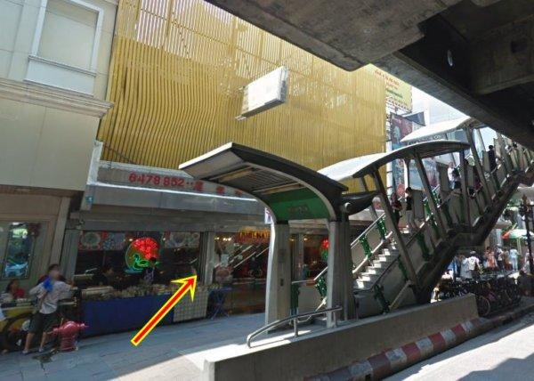 バンコクで贅沢な北京ダックをお安く味わえるグレートシャンハイ大上海飯店_Googleストリートビューキャプチャ