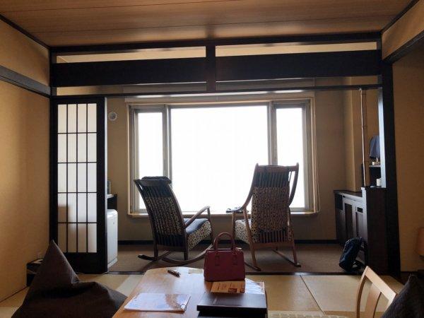 海の別邸ふる川の過ごし方②_客室「オーシャンフロント和室8畳」_全景