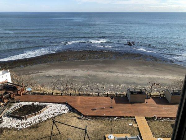 海の別邸ふる川の過ごし方②_客室「オーシャンフロント和室8畳」_窓から見える風景3