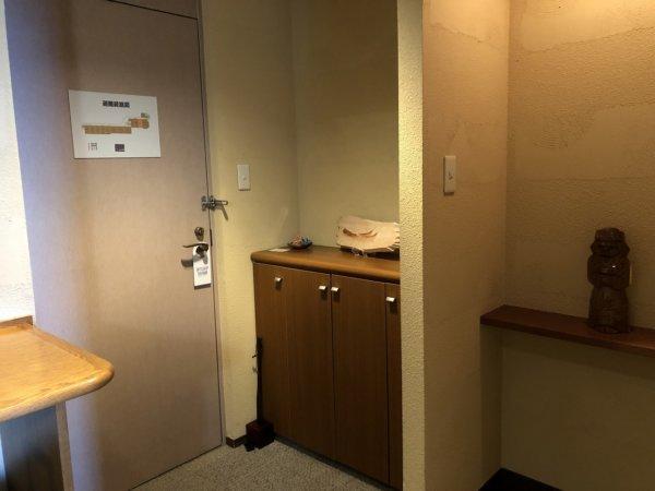 海の別邸ふる川の過ごし方②_客室「オーシャンフロント和室8畳」_入り口