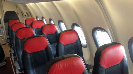 エア・アジアXJ621機内の様子1