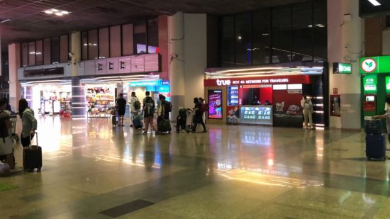 タイ・ドンムアン空港到着ロビー2
